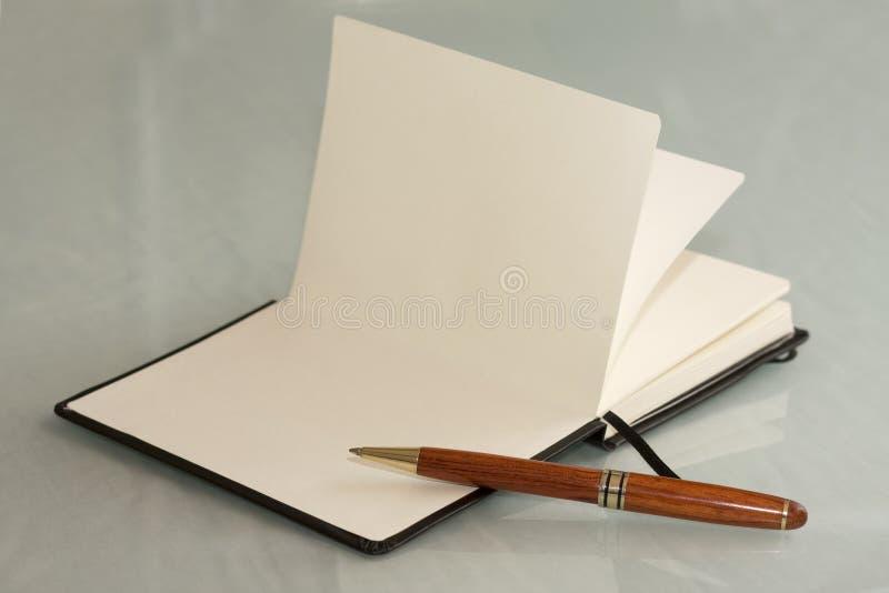 Pocket notebook stock image