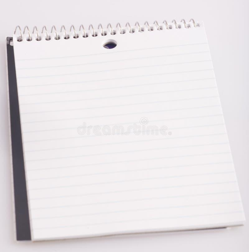 Pocket notebook Empty royalty free stock photo