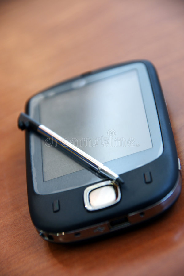 Pocket pc royalty free stock image