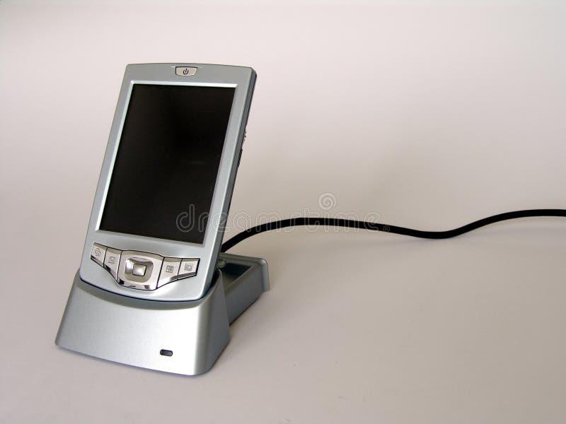 Download Pocket PC On Docking Station Stock Image - Image of charging, palm: 70155