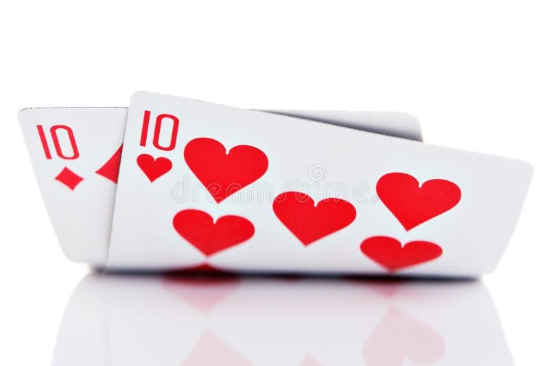 Pocket Tens stock image