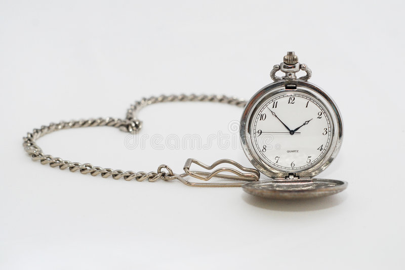 Pocket Watch communicating message of love stock images