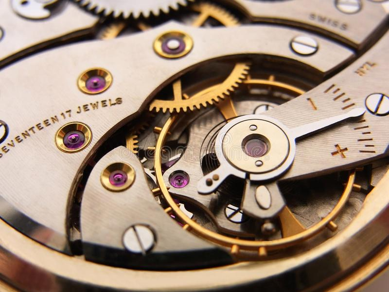 Download Pocket Watch Mechanism stock image. Image of detailed - 26504713