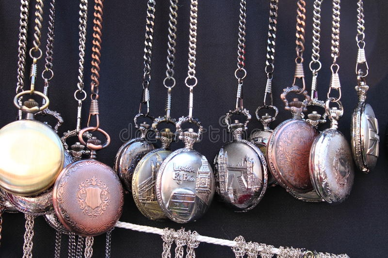 Pocket watches royalty free stock image