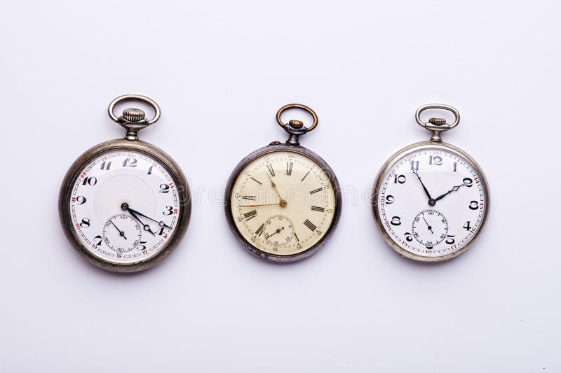 Download 3 Pocket Watches Stock Photos - Image: 32205303