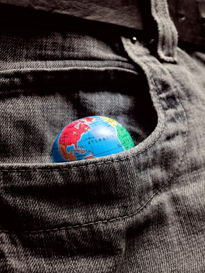 Download Pocket World stock image. Image of conquest, jeans, cupidity - 19369939