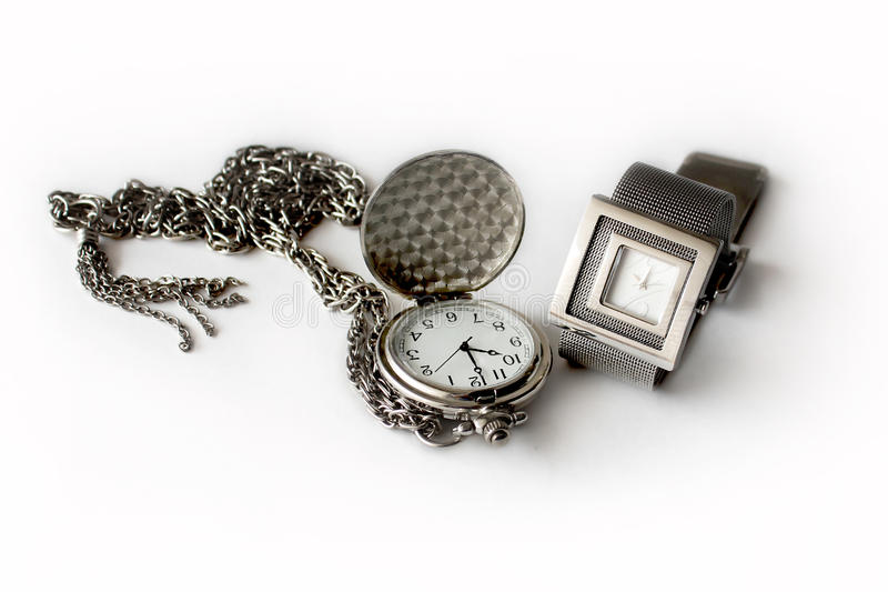 Download Pocket And Wrist Watches Royalty Free Stock Images - Image: 28253919
