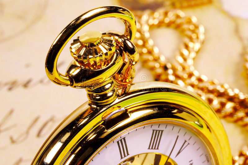 pocketwatch royaltyfria foton