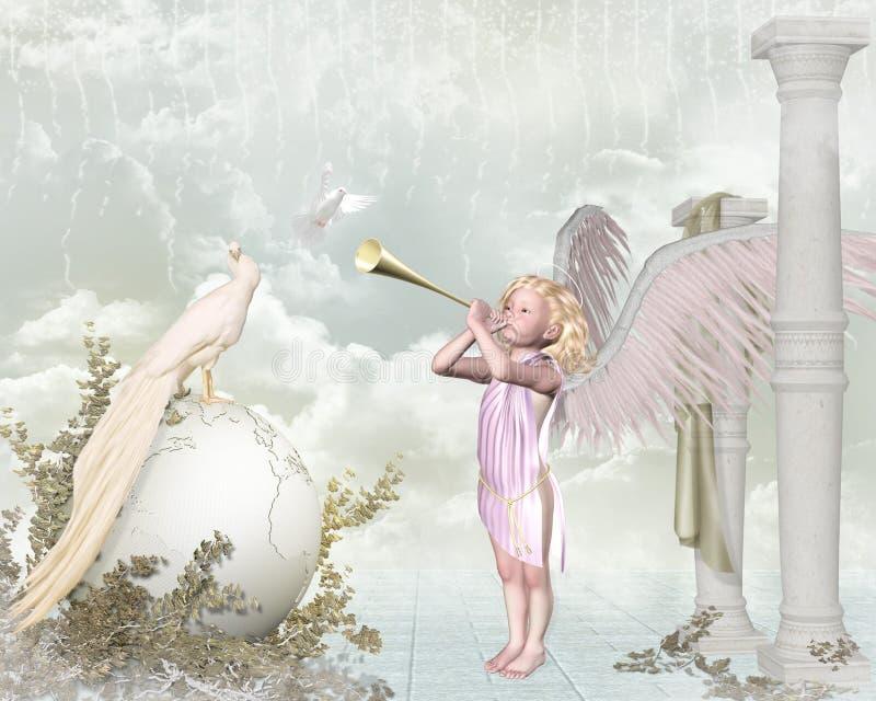 Poco ángel libre illustration