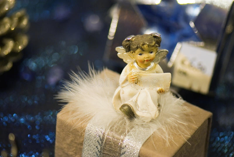 Poco ángel triste imagen de archivo libre de regalías