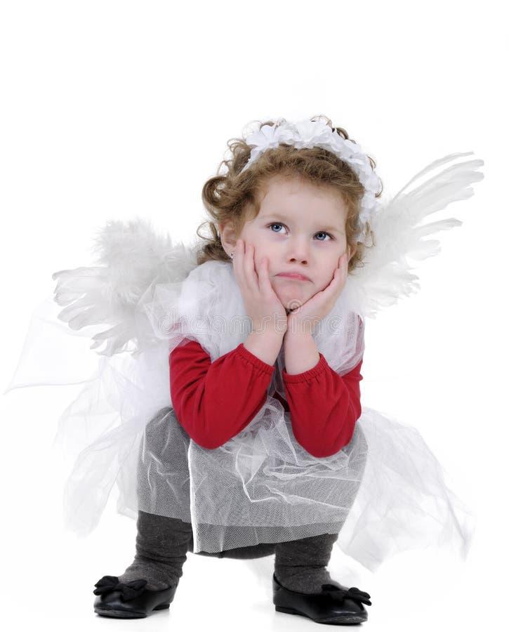 Poco angelo fotografia stock libera da diritti