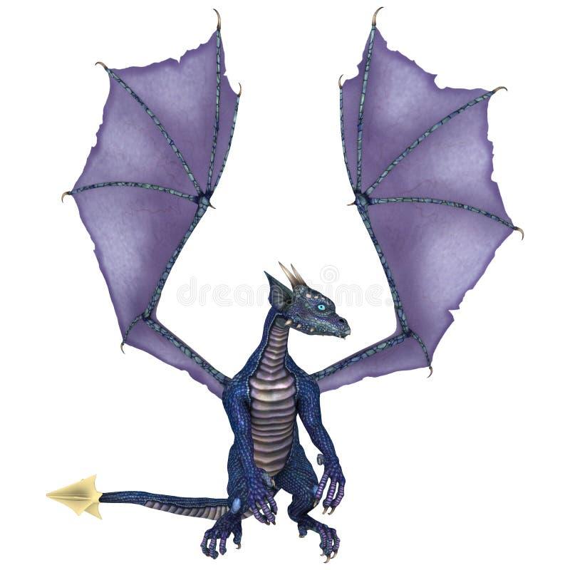 Poco dragón stock de ilustración