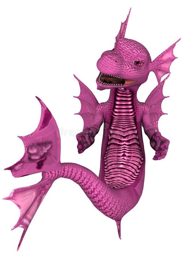Poco dragón del mar ilustración del vector