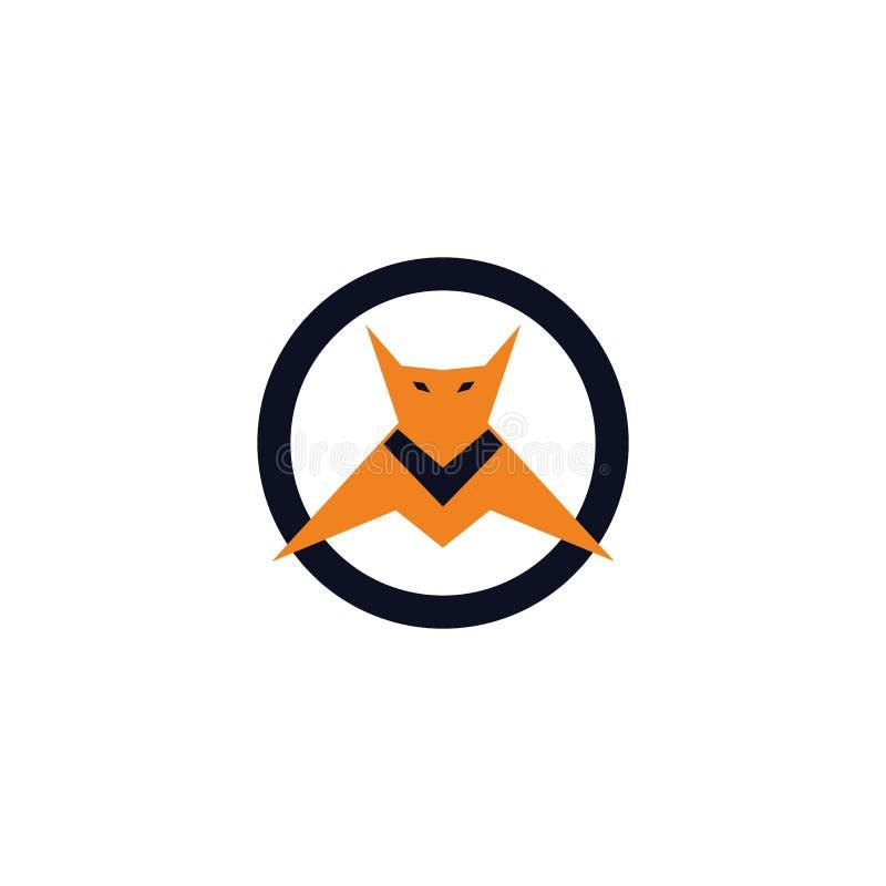 Poco emblema del palo del héroe libre illustration