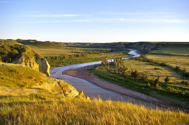 Poco fiume di Missouri fotografie stock