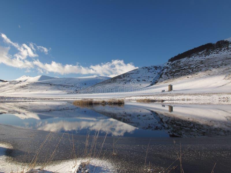 Poco lago fotografia stock