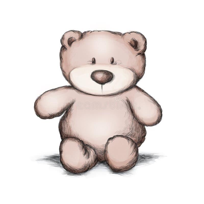 Poco oso del peluche libre illustration