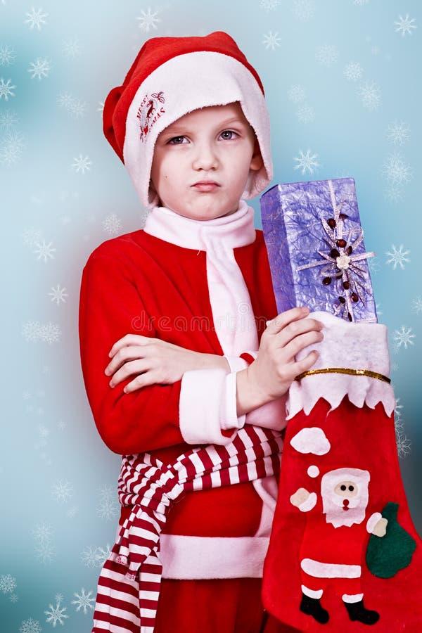 Poco Papá Noel fotos de archivo