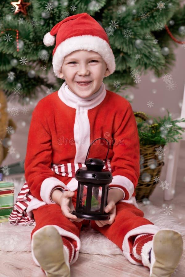 Poco Papá Noel fotografía de archivo