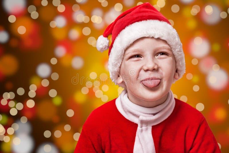 Poco Papá Noel fotos de archivo libres de regalías