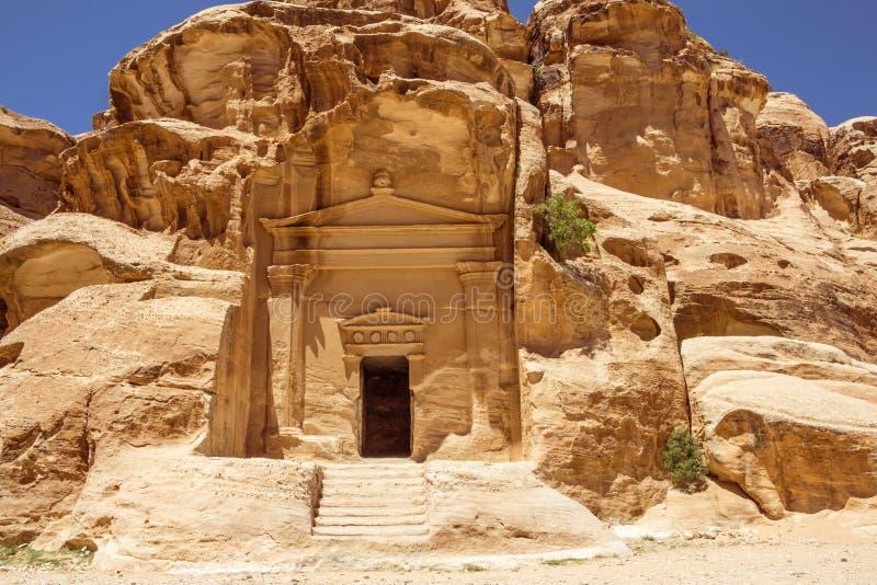 Poco Petra en Jordania imagen de archivo libre de regalías