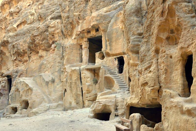 Poco Petra, Jordania imagen de archivo
