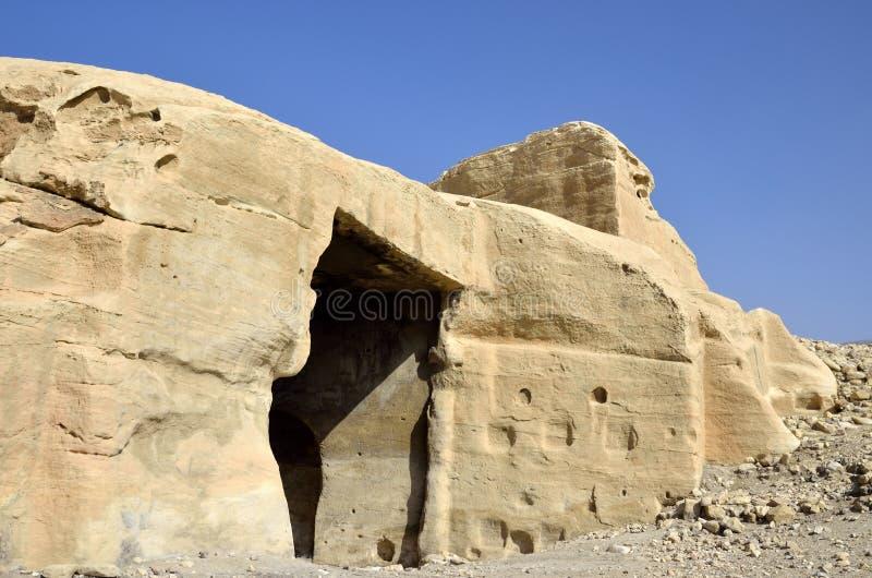 Poco Petra, Jordania imágenes de archivo libres de regalías
