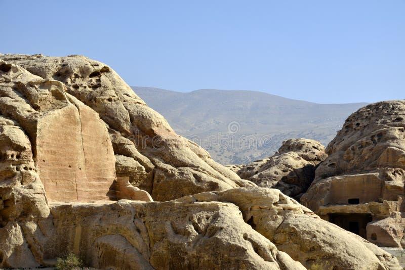Poco Petra, Jordania foto de archivo libre de regalías