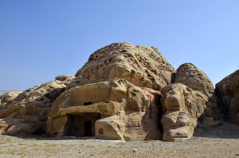 Poco Petra, Jordania foto de archivo