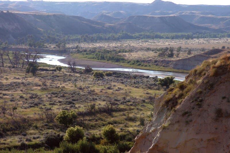 Poco río de Missouri foto de archivo
