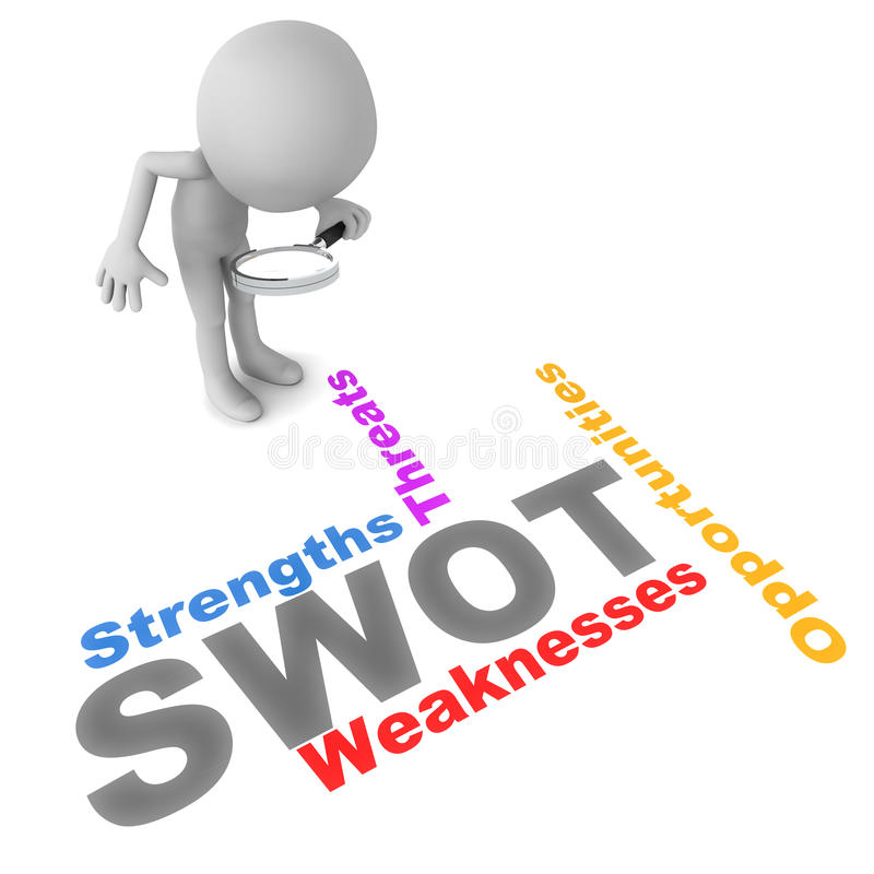 SWOT illustrazione di stock