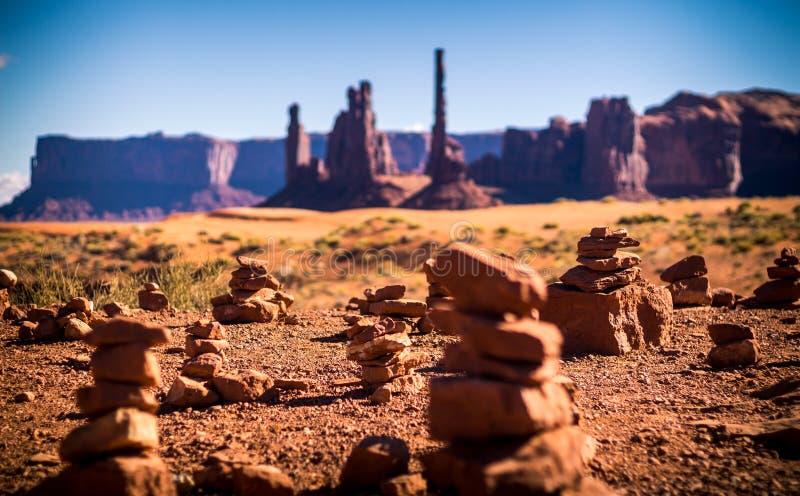 Poco valle del monumento foto de archivo libre de regalías
