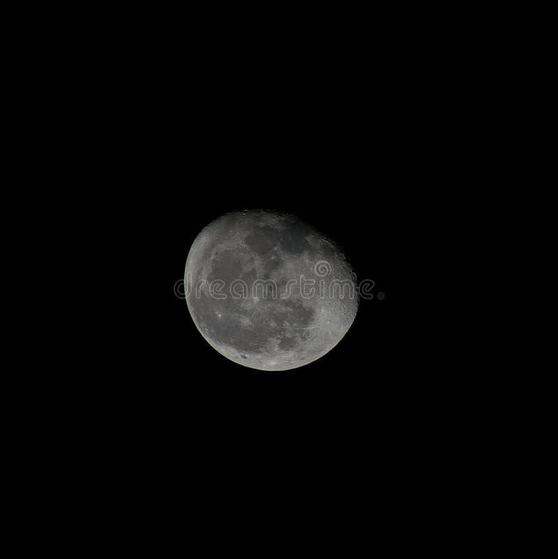 Pocos días después de la luna llena imágenes de archivo libres de regalías
