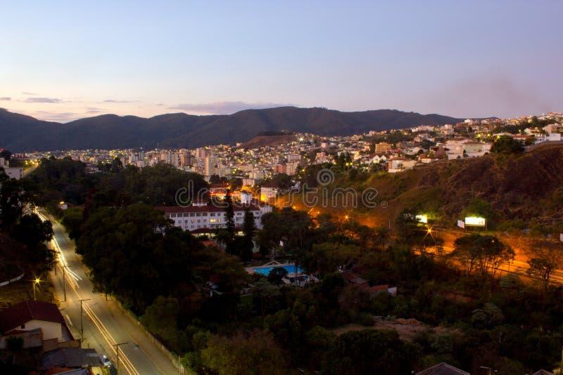 Pocos De Caldas miasto fotografia royalty free
