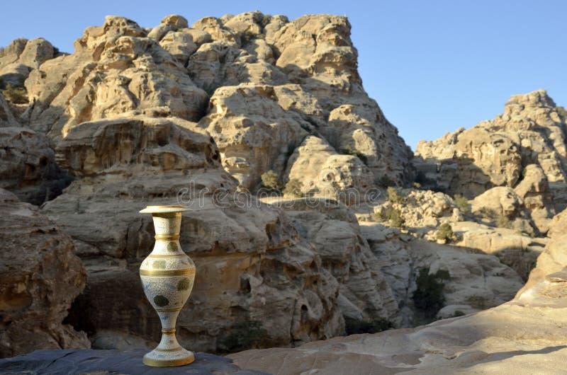 Pocos recuerdos del Petra, Jordania fotos de archivo libres de regalías