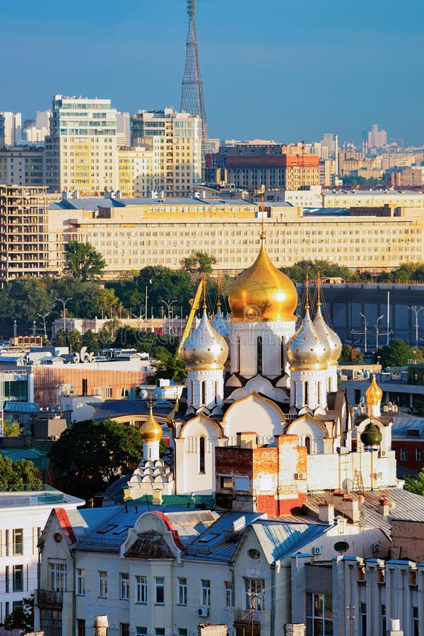 Poczęcie klasztor w Moskwa zdjęcia stock