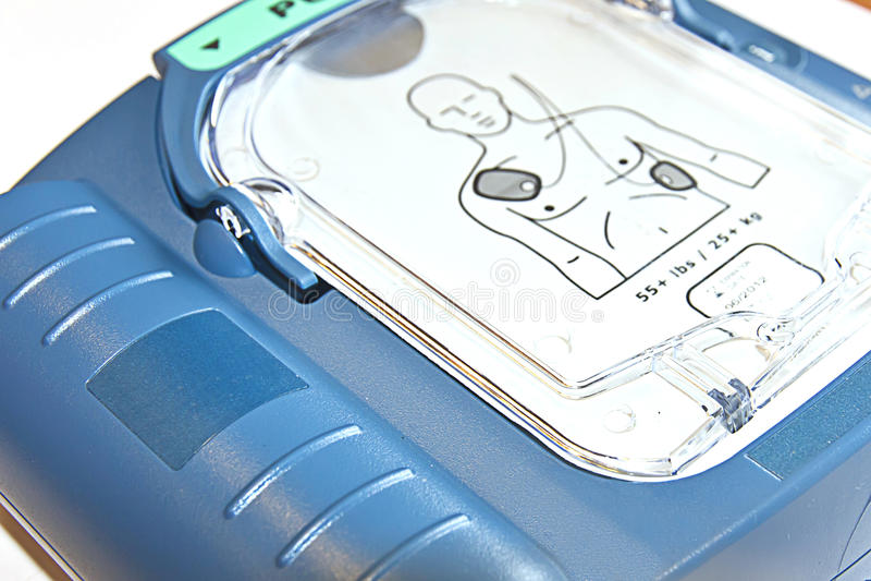 Początek kierowy Defibrillator obrazy stock