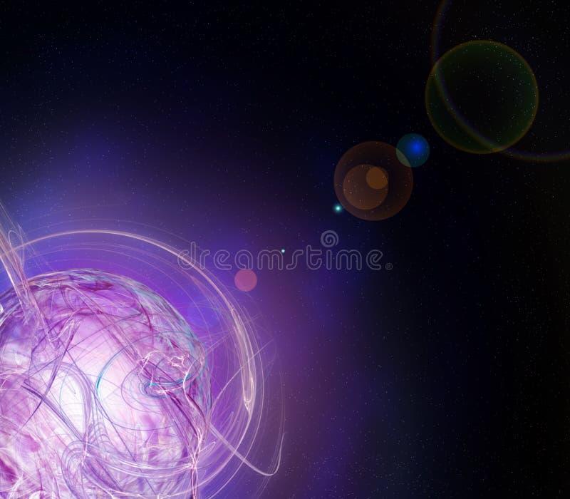 Download Początek planeta ilustracji. Ilustracja złożonej z wymiarujący - 13343107