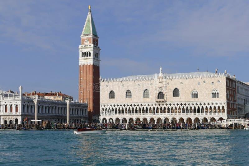 Pocztówka formularzowy Wenecja Veneto Włochy obrazy royalty free