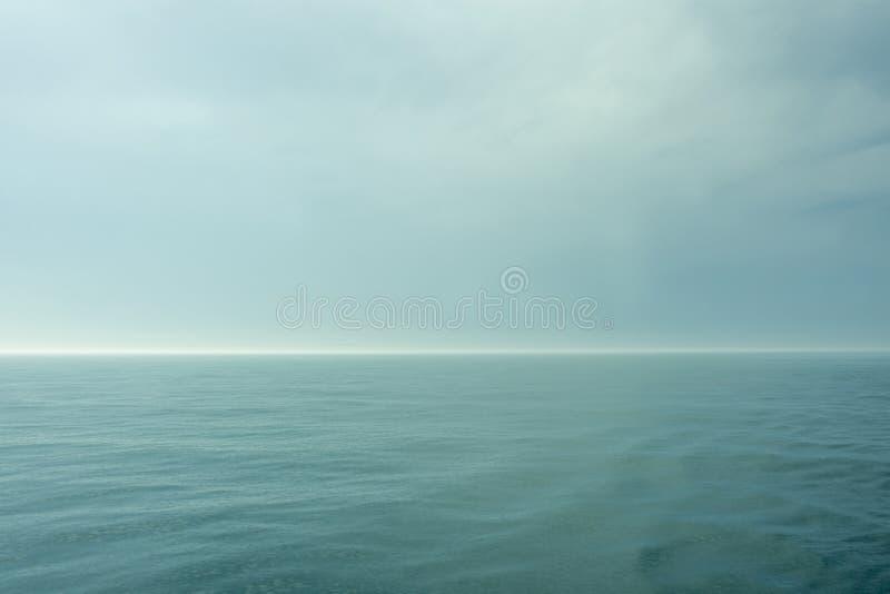 Pocztówka od Atlantyckiego oceanu fotografia royalty free