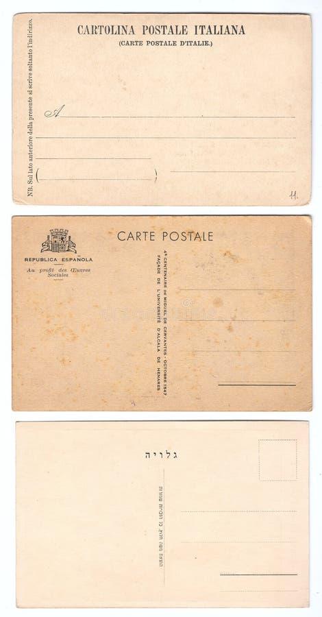 pocztówka rocznik zdjęcie stock