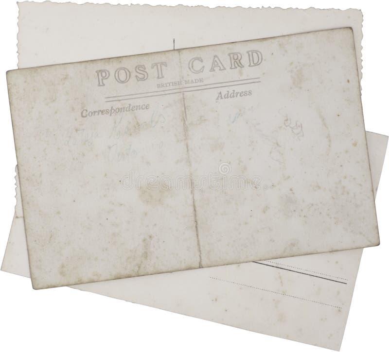 pocztówka stary rocznik obraz royalty free
