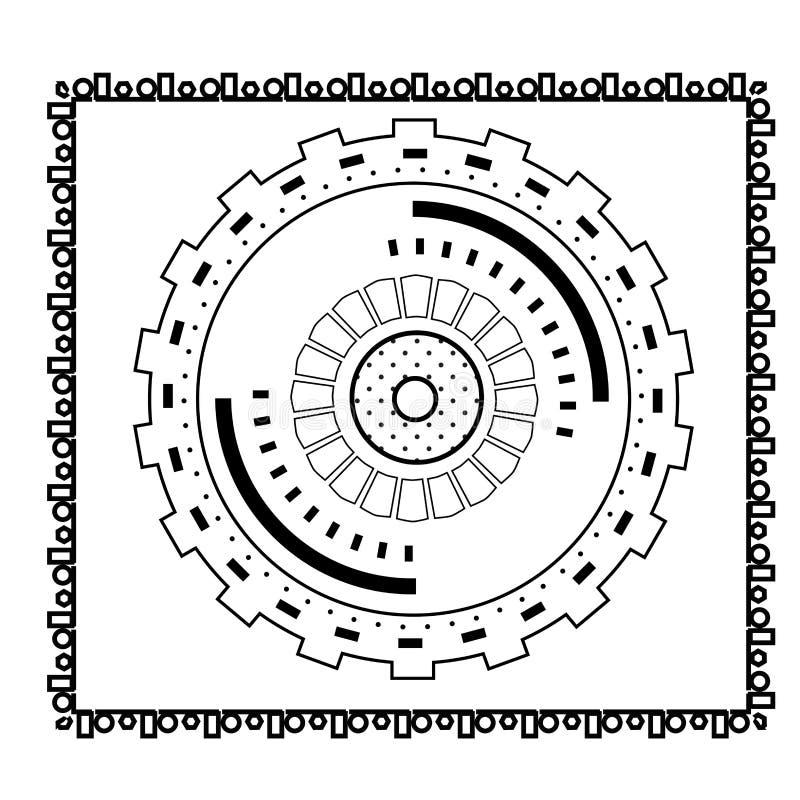 Pocztówka w stylowym Steampunk zdjęcia royalty free