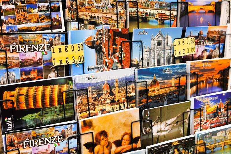 Pocztówki od Florencja obraz royalty free