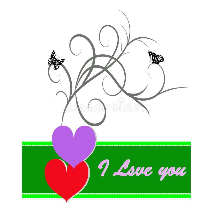 pocztówkowy dzień valentine s zdjęcie stock