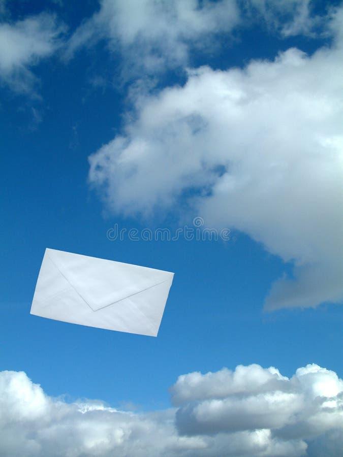 pocztą lotniczą obrazy stock