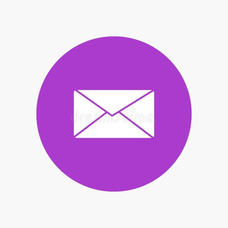 Poczta, email, użytkownik, interfejs ilustracji