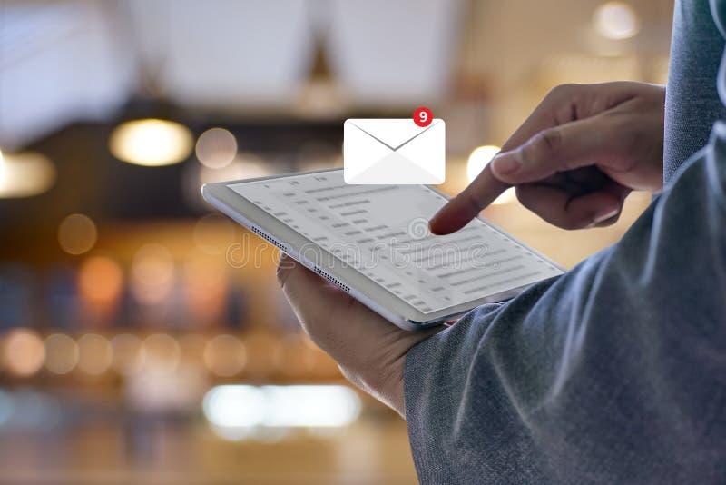 Poczta Komunikacyjna Podłączeniowa wiadomość opancerzanie kontaktuje się inbox obraz royalty free