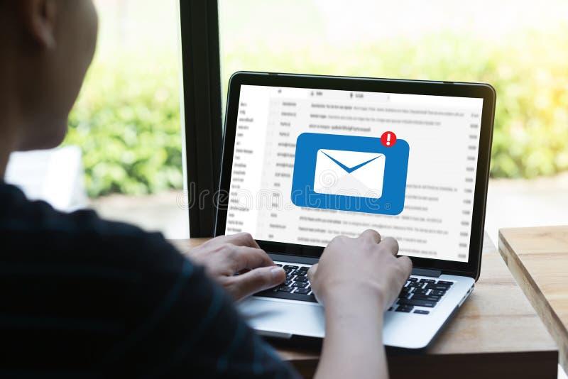 Poczta Komunikacyjna Podłączeniowa wiadomość opancerzanie kontakty dzwoni obrazy royalty free