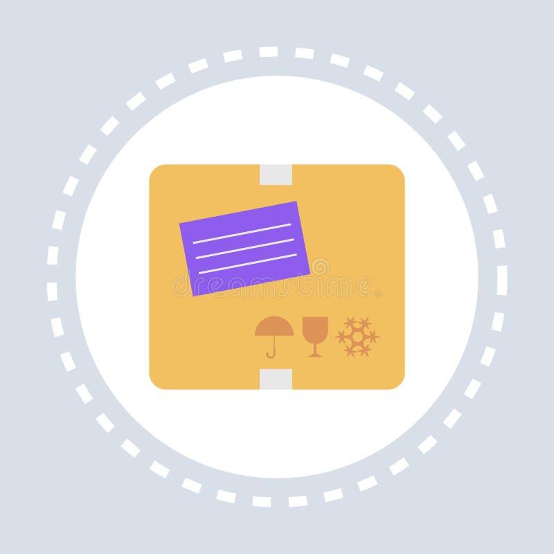 Poczty poczty adresu listu zakupy ikony papieru correspondency pojęcia stemplowy kopertowy mieszkanie ilustracja wektor